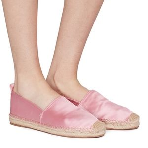 Sam Eldeman Candy Pink Espadrilles